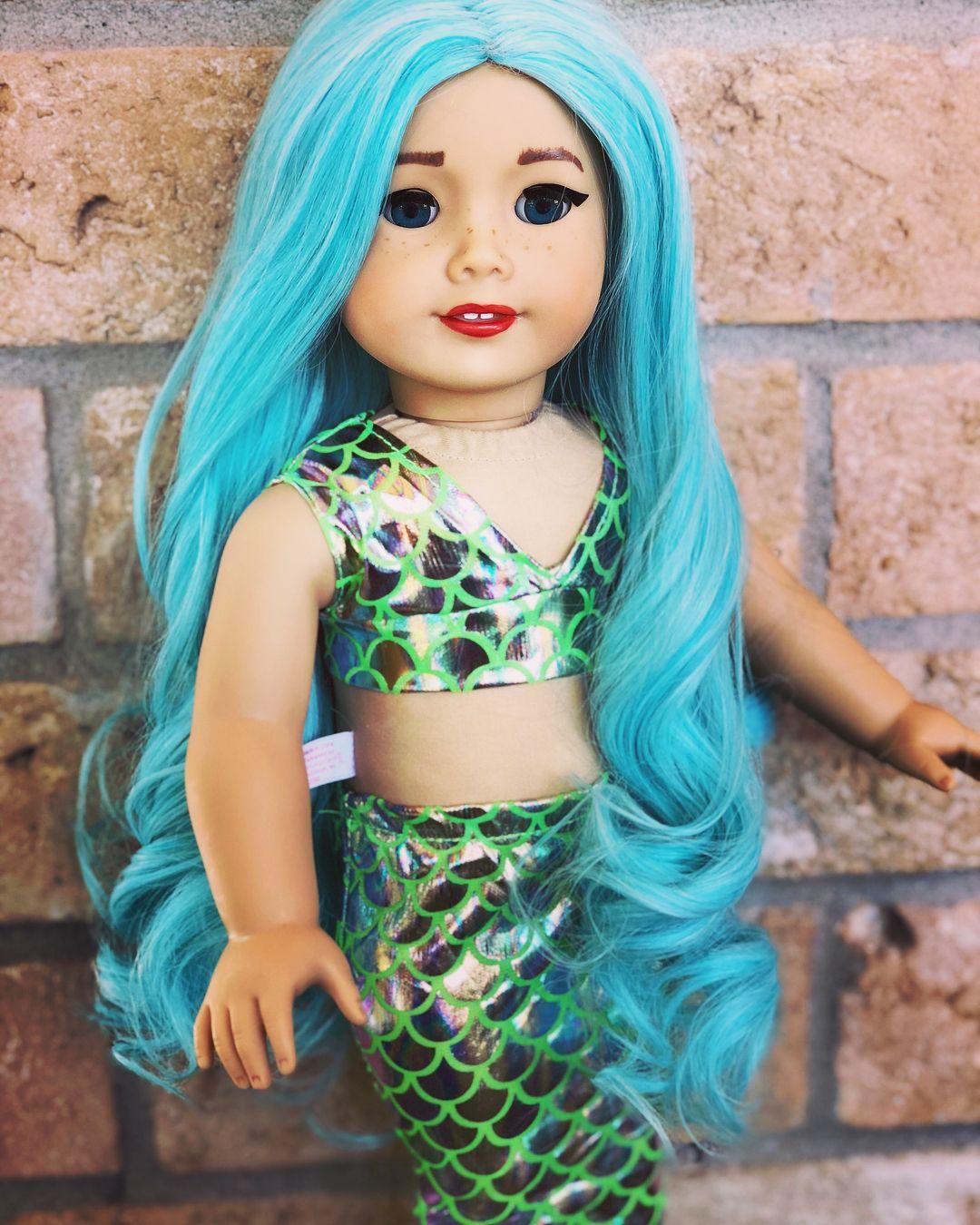 Kit got turned into a Beautiful Custom Mermaid. Swipe to