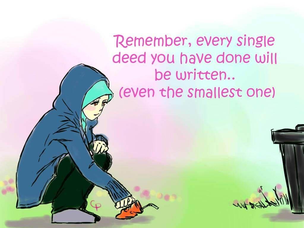 820 Gambar Kartun Muslim Dan Kata Kata Bijak Gratis