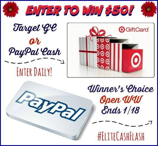 Flash GIVEAWAY - Win $50 PayPal or Target Gift Card | Its the ...