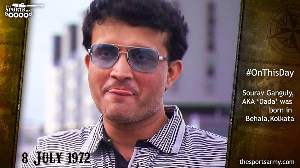 One of the most Successful Indian Cricket Team Skipper was Born in Behala, Kolkata . Happy Birthday @SCGanguly #DADA #Birthday #kolkata #IndianCricketTeam