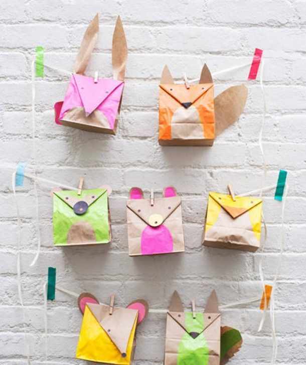 6 Awesome Paper Bag Crafts For Kids Cute Craft Ideas Crafts For
