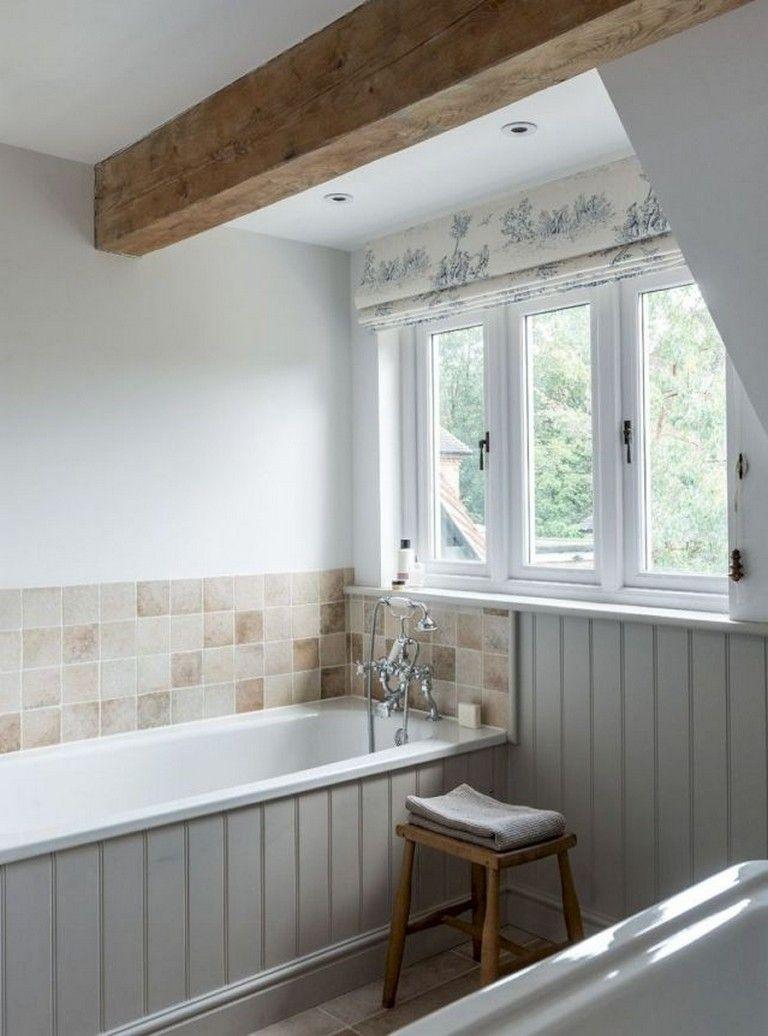 75+ Rustic Farmhouse Bathroom Tiles Ideas #bathroomideas # ... on Rustic Farmhouse Bathroom Tile  id=48665