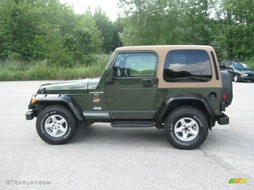 1997 Jeep Wrangler Sahara Cars I Ve Owned Jeep Wrangler Sahara Green Jeep Wrangler Green Jeep