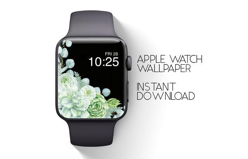 Apple Watch Wallpaper Apple Watch Background Green Cactus Etsy Apple Watch Wallpaper Apple Watch Watch Wallpaper Best apple watch wallpapers