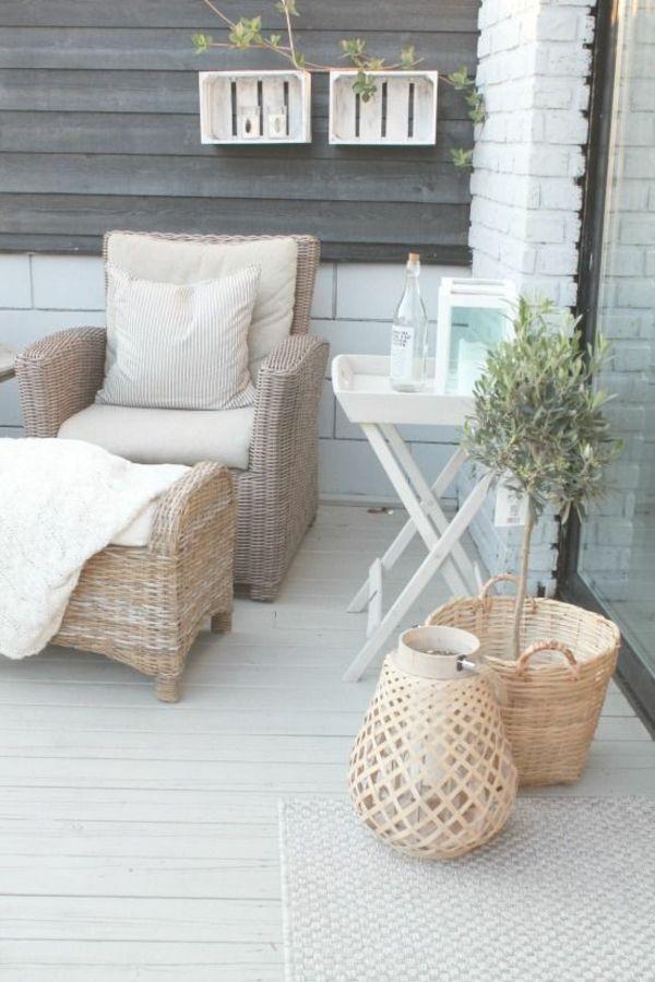 Balkongestaltung, die Sie zum Träumen bringt | Idéer för hemmet ...