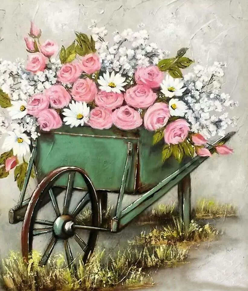 Pin by on pinterest painting bouquet full of flower basket stella bruwer izmirmasajfo