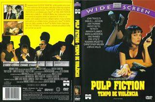 Pulp Fiction Tempo De Violencia Capa Filme Dvd Com Imagens