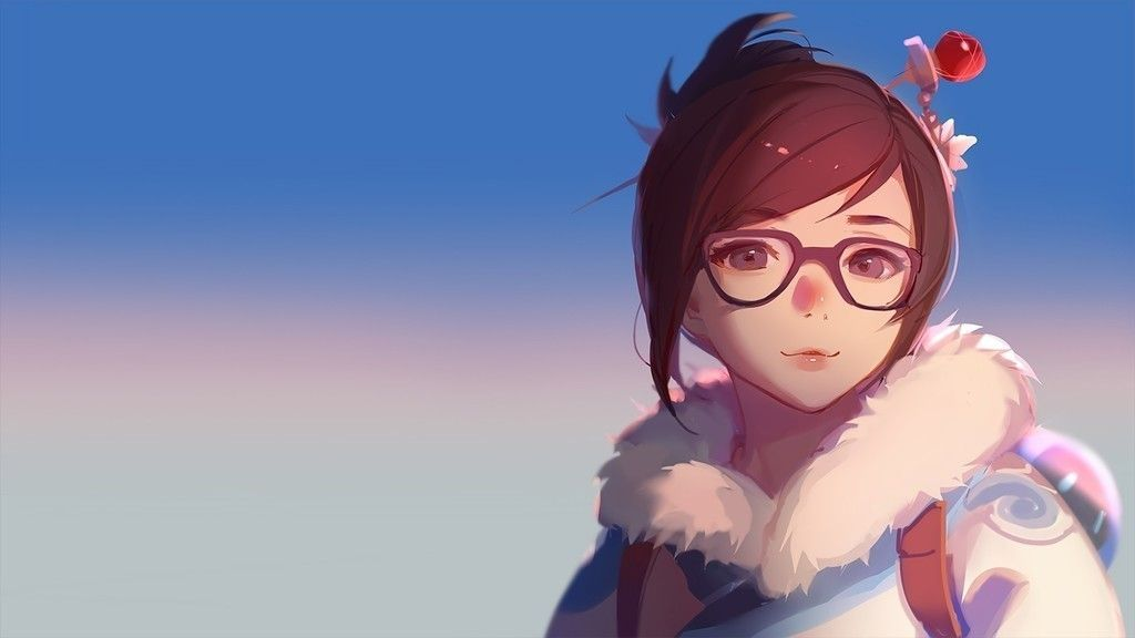 Mei Beautiful Girl Overwatch Face Wallpaper Anime Character Illustration Anime Characters