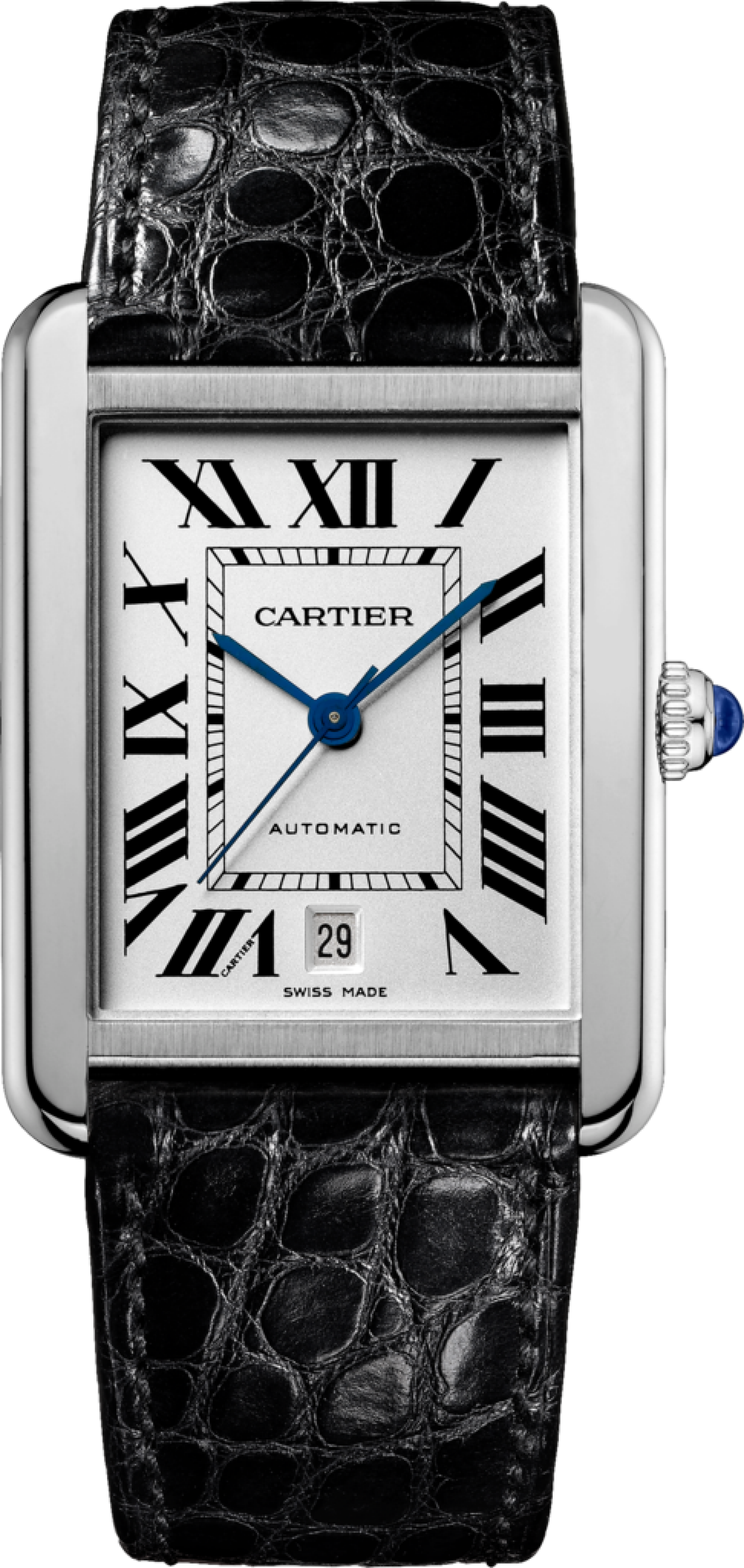 One Of My First Loves The Cartier Tank Solo Watch In Xl For When I Land That Big Gig Cartier Tank Solo Luxury Watches For Men Cartier Tank