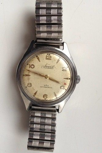 cf8fa7b24b81 AUCTIONS ENDING WEDNESDAY 20th FROM 8pm NEW AUCTIONS STARTING FROM  8.30pm....MENS VINTAGE ACCURIST 21 JEWELS ANTIMAGNETIC SWISS MADE WATCH