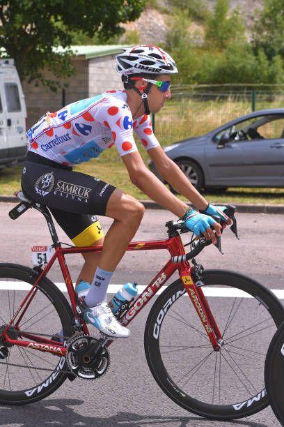 104th Tour de France 2017   Stage 7 Fabio ARU Polka Dot Mountain Jersey    Troyes 2943dd600