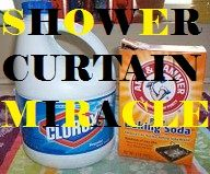 How To Clean Plastic Vinyl Shower Curtains Or Bath Mats Gets Rid Of Mildew And Mold Super Easy