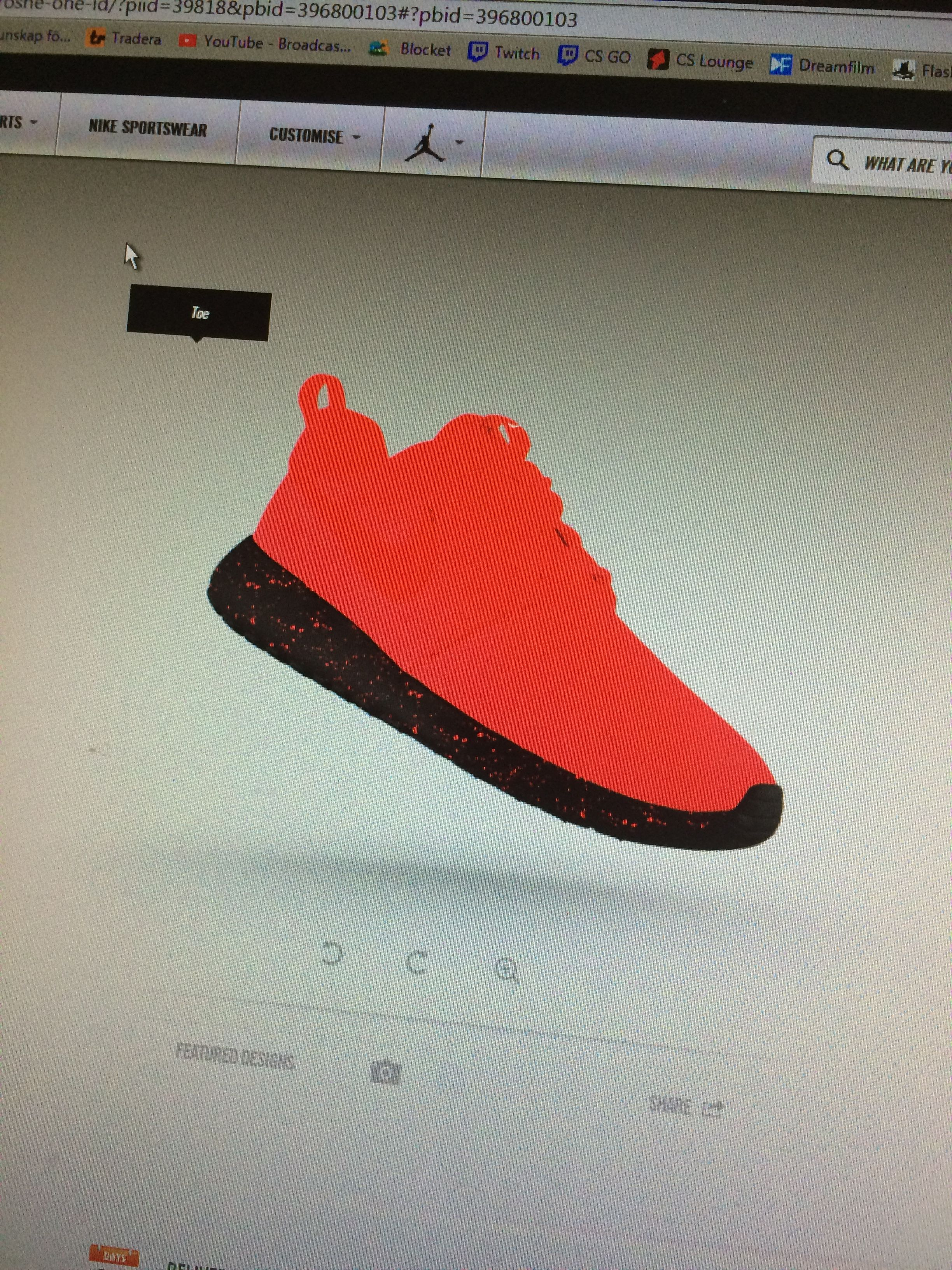 1c54a49afbd056 Nike allows you to customize your own shoes. You can customize the shoe to  whatever