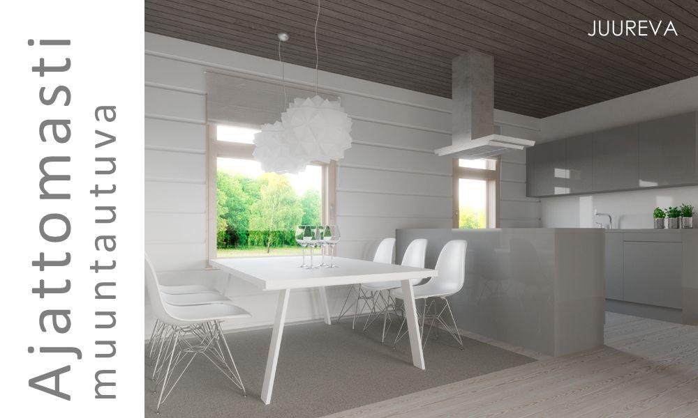 Harmonia on moderni ja selkeälinjainen koti kaupunkiin. Arkkitehtuurin yksityiskohdat korostavat hienosti massiivipuun elävää pintaa ja sisätilojen suunnittelu edustaa niukkailmeistä kodikkuutta. Konstailematon tyyli varmistaa valintojen pitkäikäisyyden.   Lue lisää arkkitehtuurista »
