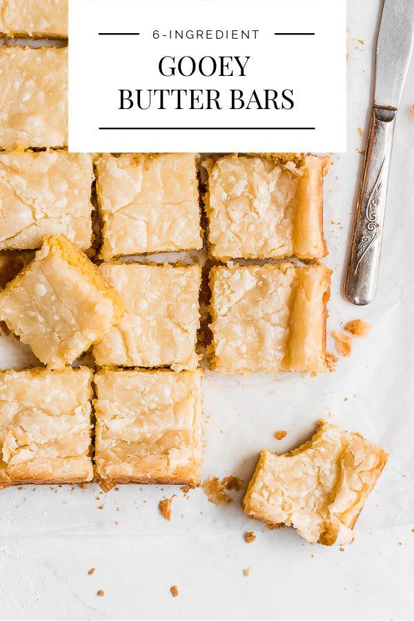 6-Ingredient Gooey Butter Bars