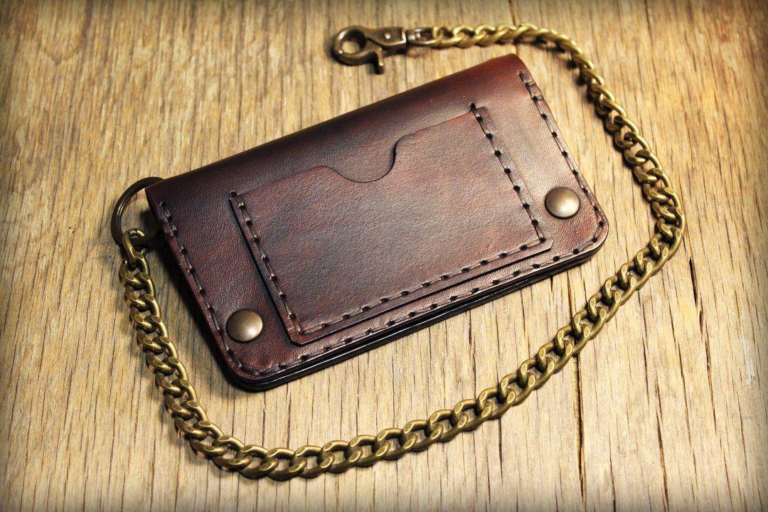migliore selezione di più economico buona consistenza Mens Chain Wallet, Leather Wallet, Chain Wallet, Mens ...