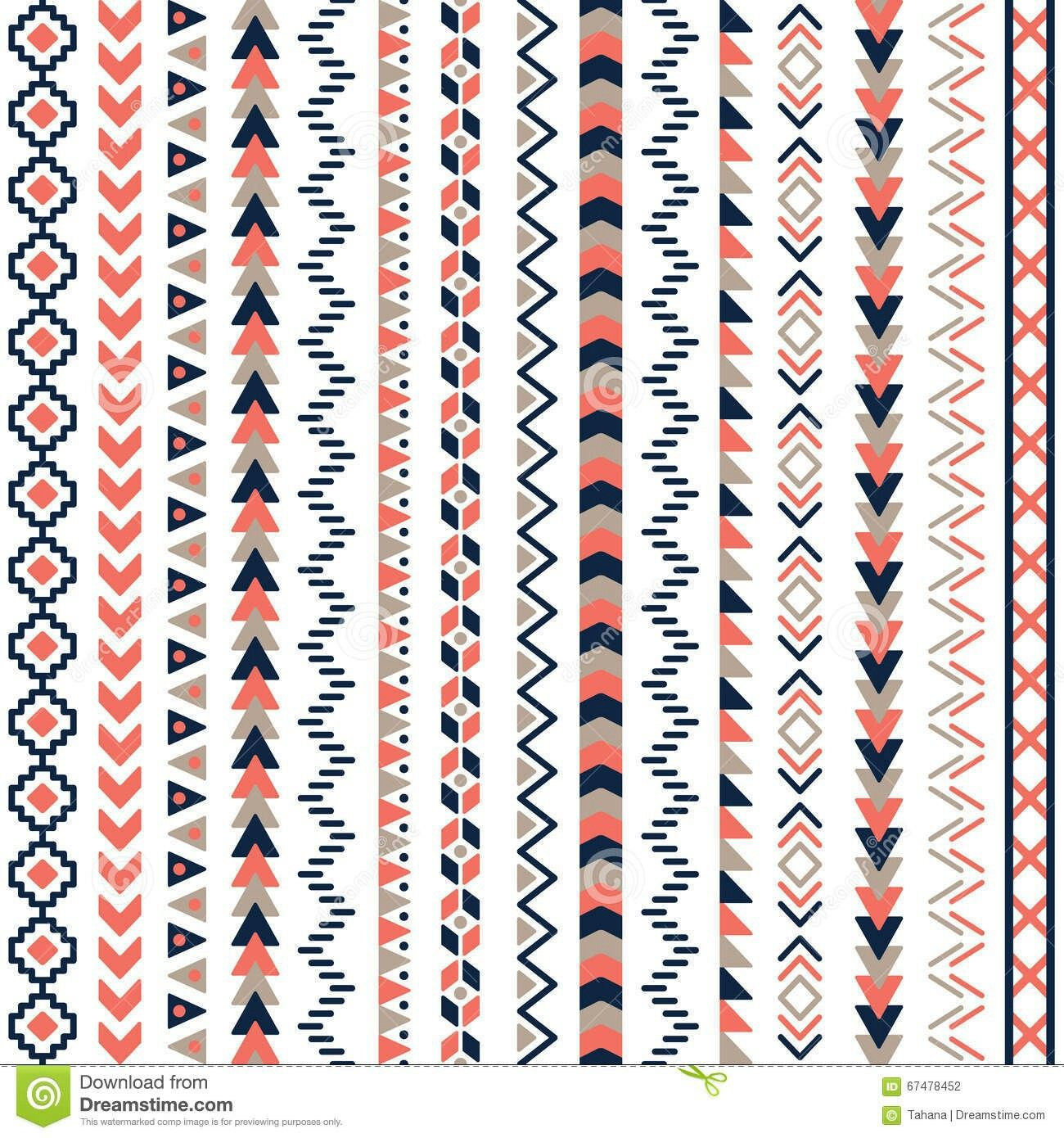 Pin by Tp & Kp on MOsaic Aztec pattern design, Tribal
