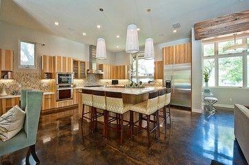 Bowman, Greenbelt Homes, Austin TX - contemporary - kitchen - austin - Greenbelt Homes