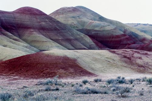 The Painted Hills of Oregon by David Martin