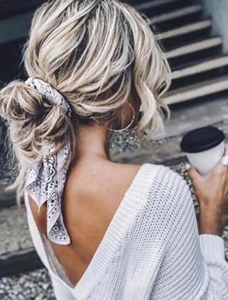 Stylish Hair Bow - Hair Accessories