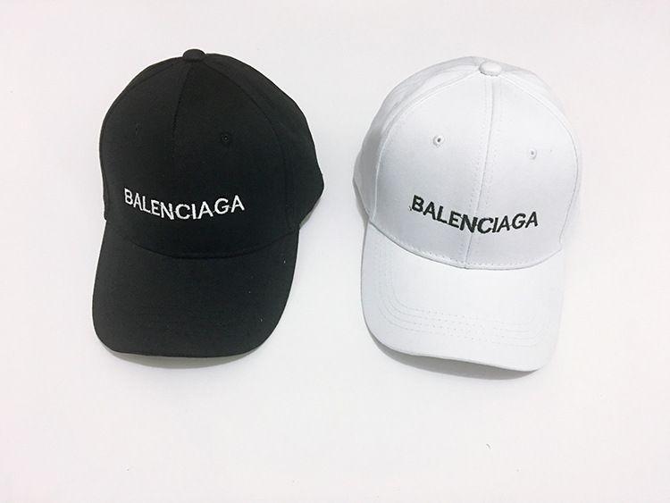49080b171 balenciaga words men women baseball cap