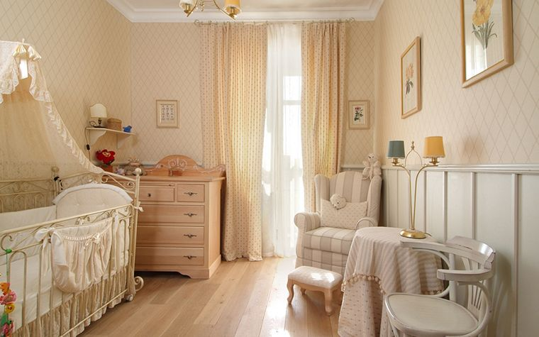 Bellissime camere Shabby per i piu piccoli Design stanza