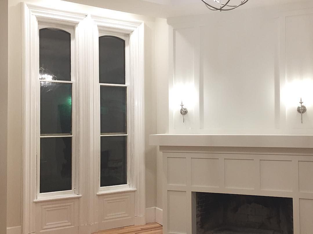 Sherwin Williams Pearly White For The Walls And Extra White For