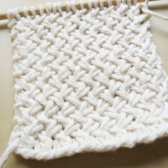 Diagonal Basketweave Knitting Pattern | Cozy blankets, Cozy and Blanket