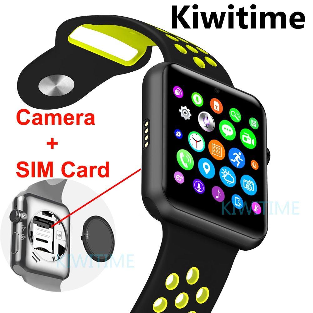 Bluetooth smart watch sim card camera smartwatch case for