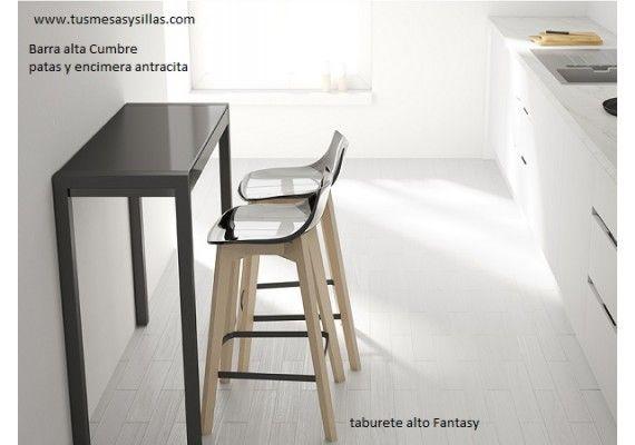 Barra de cocina para espacios estrechos mercury cancio | barras ...