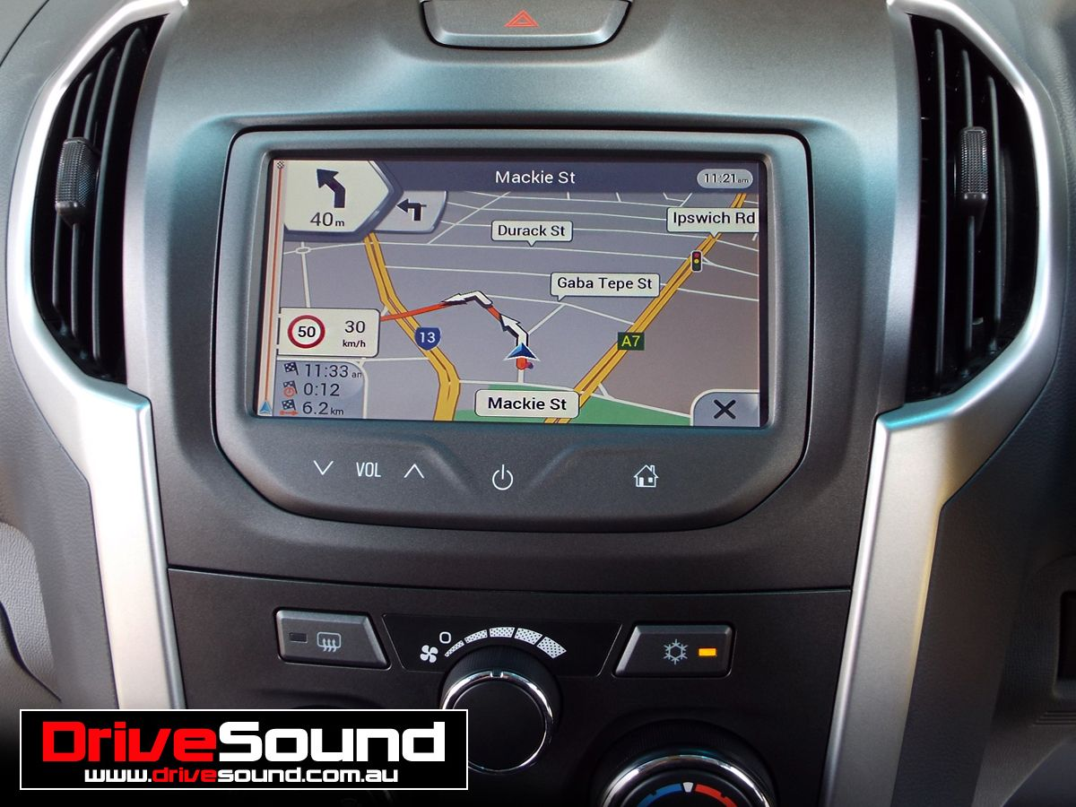 Holden colorado with integrated navigation installed by drivesound holden colorado with integrated navigation installed by drivesound greentooth Image collections