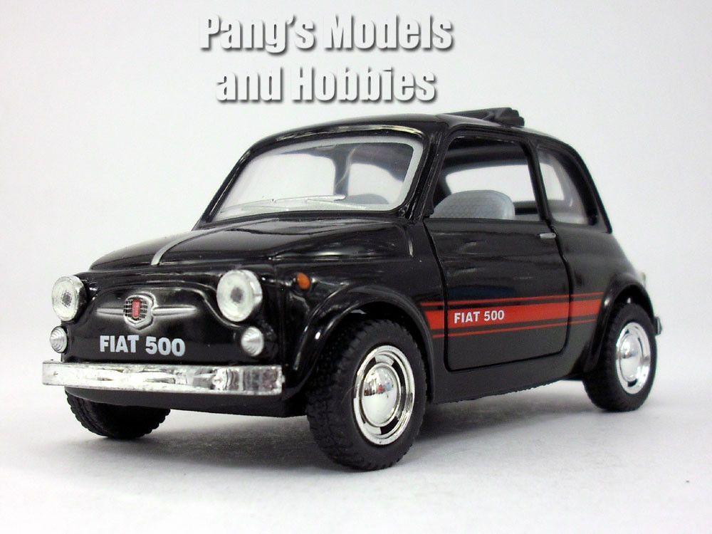 Classic Fiat 500 1 24 Scale Diecast Metal Model By Kinsmart Fiat