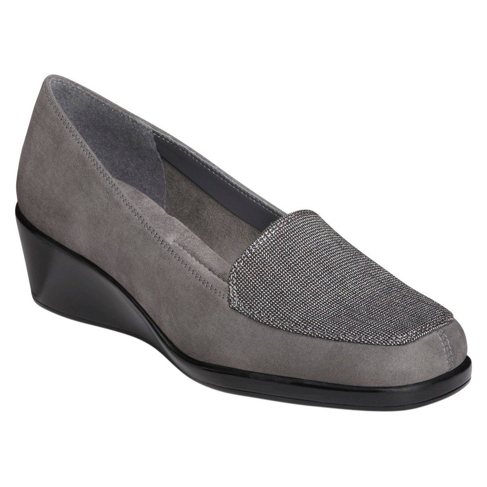Women's A2 by Aerosoles Tempting Driving Loafers - Grey 9.5