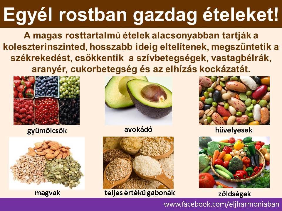 rostban gazdag étrend