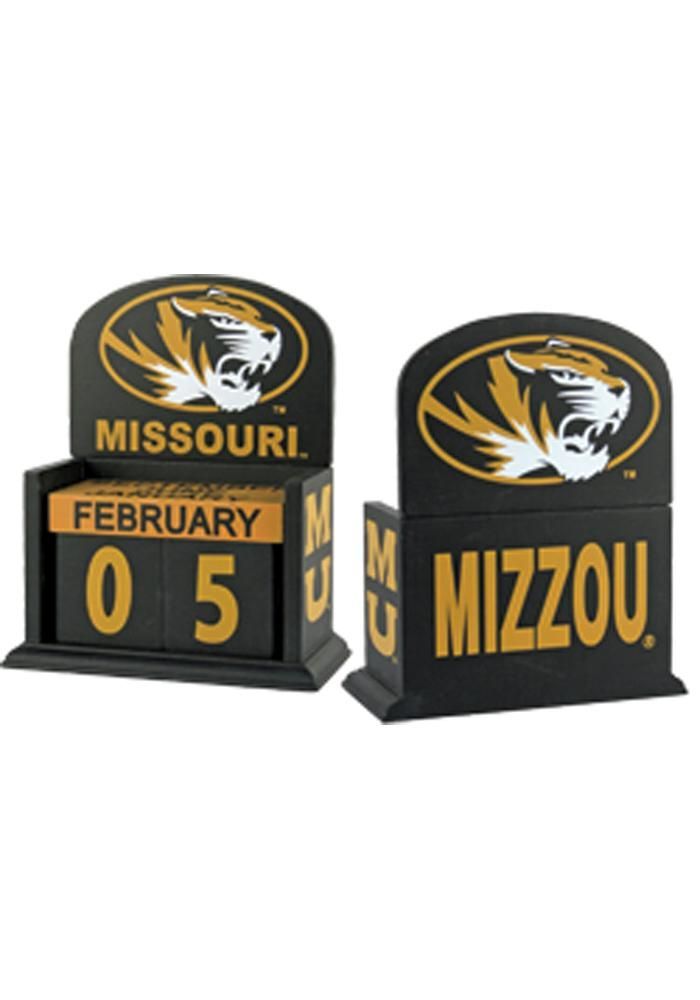 Missouri (Mizzou) Tigers Block Calendar Desk Accessory | Mizzou Tigers Desk Accessory http://www.rallyhouse.com/shop/missouri-tigers-3494054?utm_source=pinterest&utm_medium=social&utm_campaign=Pinterest-MizzouTigers $14.95