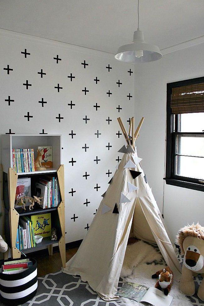15 idées pour créer un tipi dans une chambre d\u0027enfant Tipi, Kids