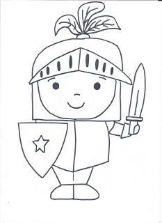 Aprendiendo A Ser Pt Caballeros Y Castillos Artesanias Medievales Caballeros Y Princesas