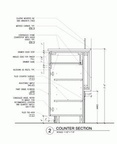 Gallery of compartes melrose aamp studio 23 studio for Kitchen cabinet section