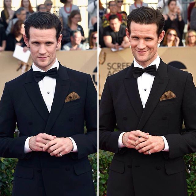 Matt Smith has definately got a licence to thrill looking like this, please make this man the next James Bond 007!! ❤️🇬🇧 #mattsmith #sagawards #losangeles #thecrown #jamesbond #007