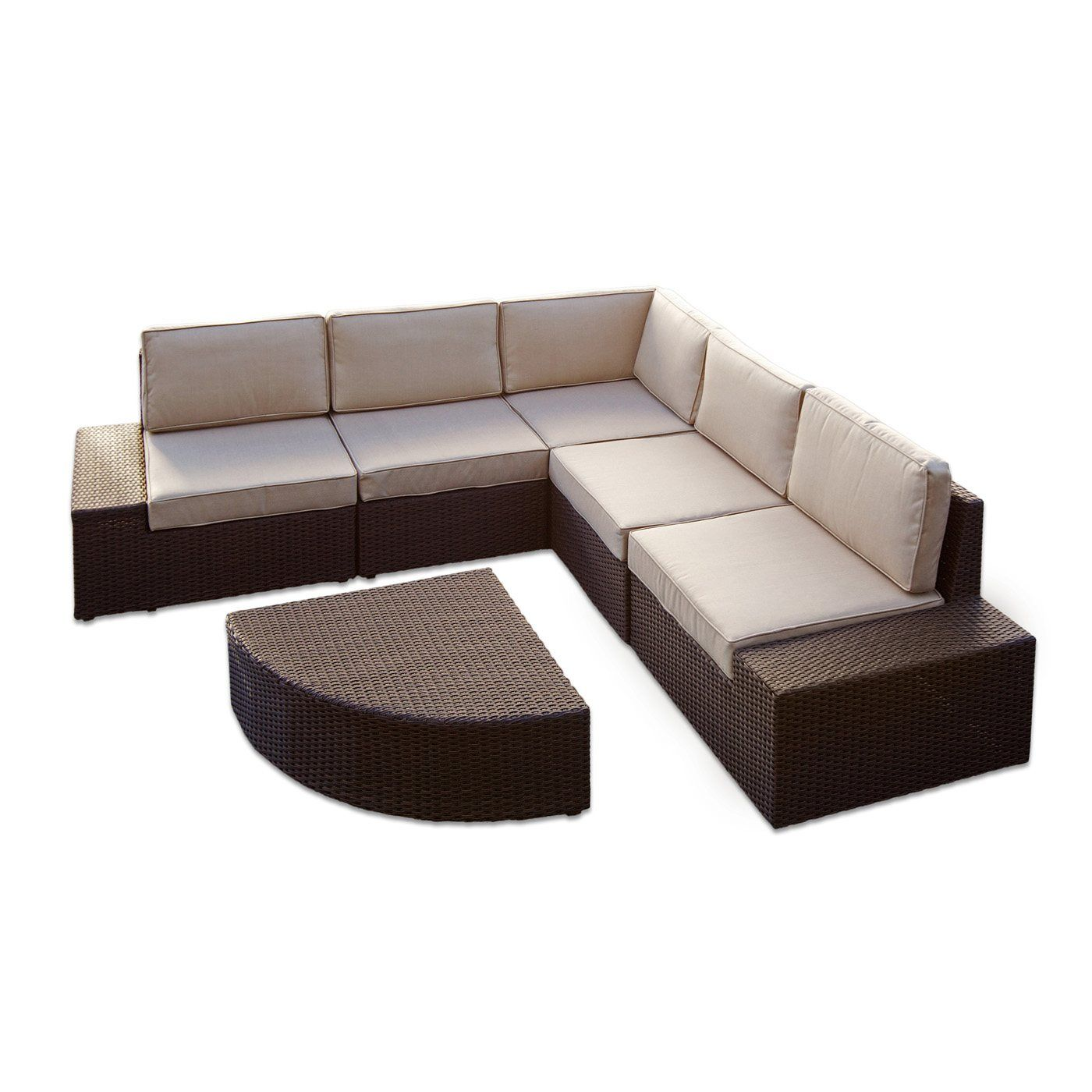 sectional sofas lowes chesterfield vine sofa best selling home decor santa cruz outdoor set lowe