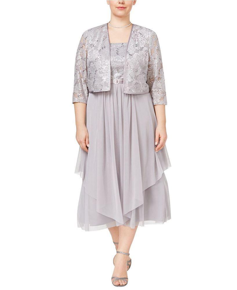 Mother dresses wedding plus size  RM Richards Womenus Plus Size Floral Lace Mother of The Bride Dress