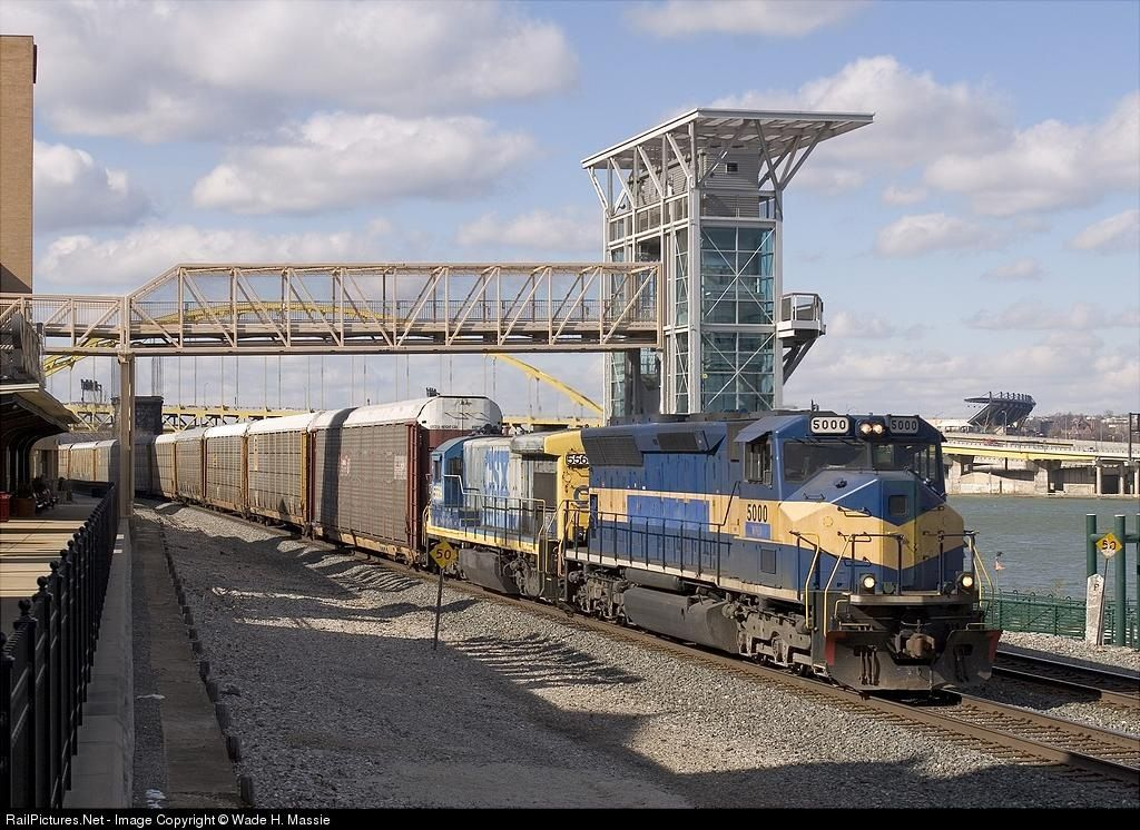 RailPictures.Net Photo: MPEX 5000 Motive Power Industries EMD SD50M-3 at Pittsburgh, Pennsylvania by Wade H. Massie