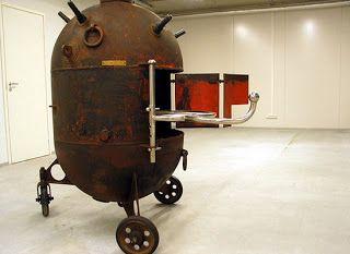 Mati Karmin muebles elaborados a partir de minas