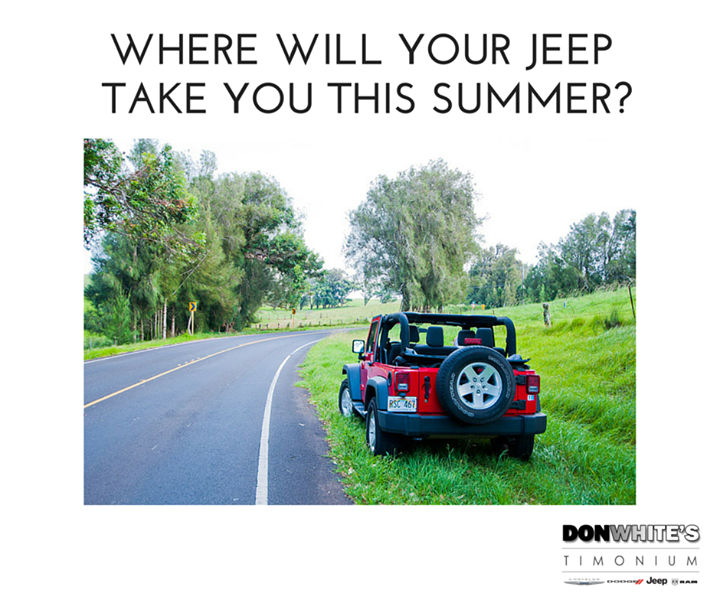 Are You Taking Any Exciting Road Trips This Summer Donwhitescdjr Chrysler Dodge Jeep Road Road Trip