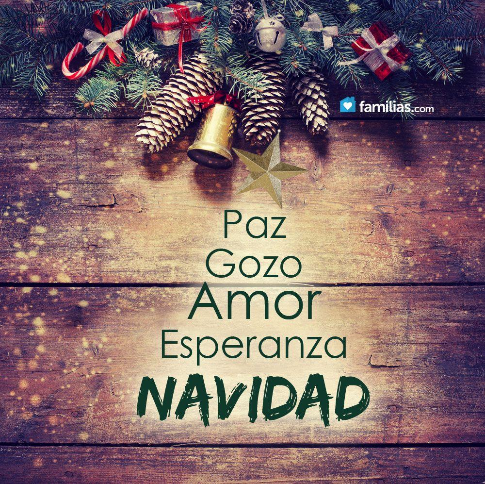Paz amor Navidad