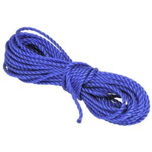 1 4 X 50 Ft Poly Rope By Big Top 2 99 This Polypropylene Rope Is Three Strand Strength Braided To Hold Up To 112 Lbs T Poly Rope Rope Three Strand Twist