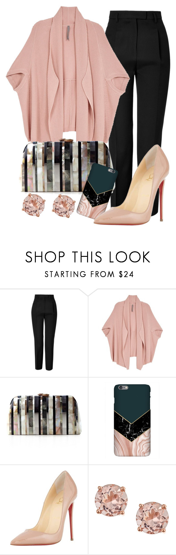 """Hmph"" by perichaze ❤ liked on Polyvore featuring Emilio Pucci, Melissa McCarthy Seven7, Serpui, Harper & Blake, Christian Louboutin and plus size clothing"
