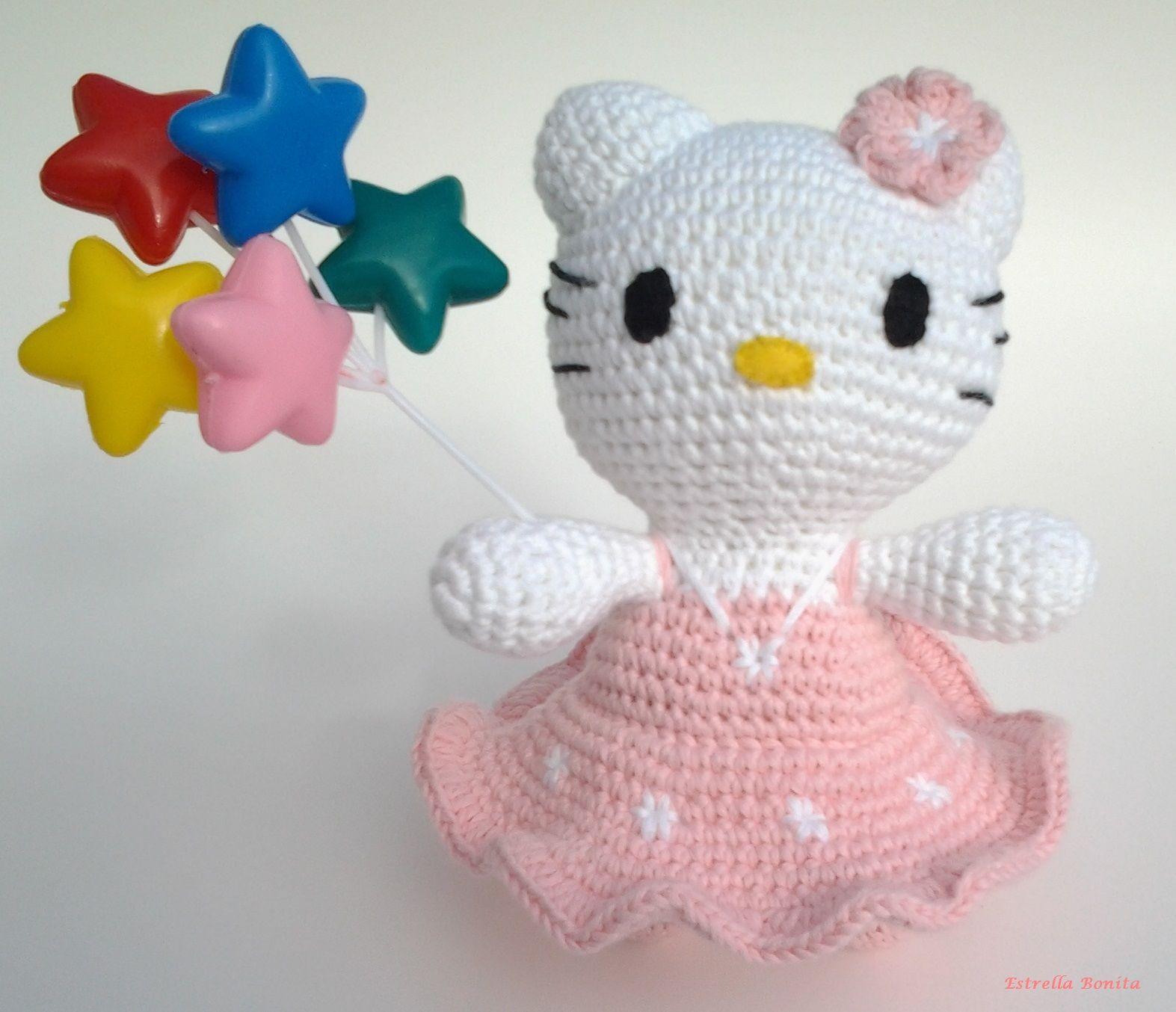 Estrella Bonita: Amigurumi Hello Kitty. Pattern free. http ...