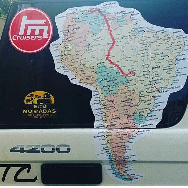 Así vamos hoy, despertando en Rondonopolis.. Gracias a la colaboración de: @tmcruisersoficial @procompve @toyotacruisers @repuestoselrustico @seguritex_ca @fercarnesdelivery @doble_y_mocha @peterelbrujo @Kangurocamp @ppaccesorios @pittman4x4 Asesoría de ruta: @guacharako @s.lagarza  GPS y Mapas: @patafondo2.0  Podran ver el progreso de la ruta por @tmcruisersoficial y @toyotacruisers #rutaamericaaustral #toyota #hzj76
