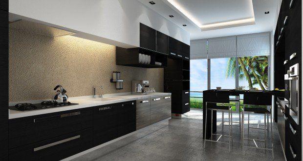 صور ديكورات مطابخ المنيوم 2016 مودرن ميكساتك Kitchen Cabinets On A Budget Kitchen Design Modern White Modern Kitchen Design